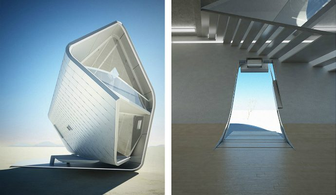 5 Stunning Futuristic House Designs  futuristic house designs 5 690x400