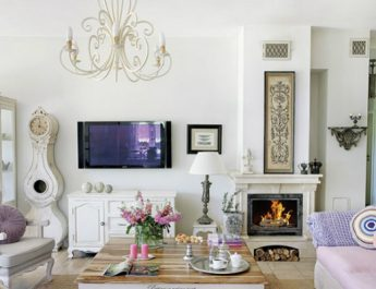 Interior Design Trends: Shabby Chic Style shabby chic villa in poland romantic interiors white home interiors 1 345x265