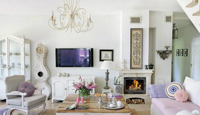 Interior Design Trends: Shabby Chic Style shabby chic villa in poland romantic interiors white home interiors 1 690x400