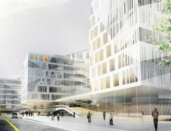One of The Best Buildings Unveiled in 2014 swedbank headquarters l210211 1 345x265