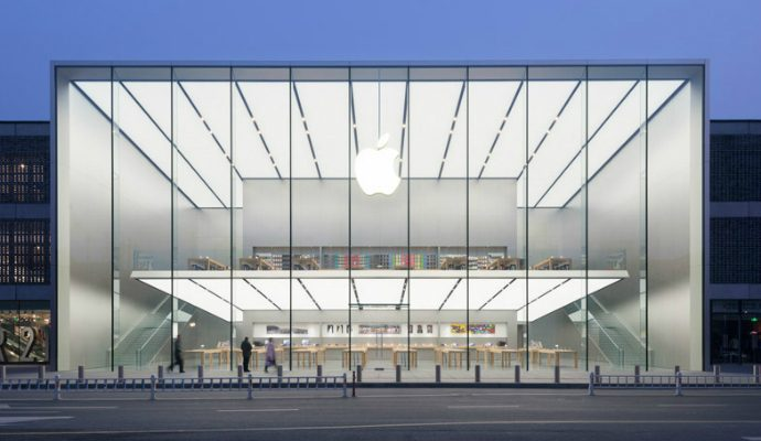 New-Apple-Store-in-China-by-Foster + Partners  New Apple Store in China by Foster + Partners New Apple Store in China by Foster Partners 690x400
