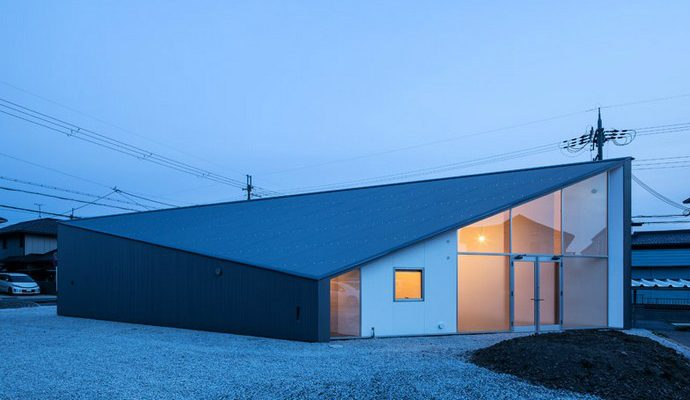 Art House Building Design A Diamond-shaped Plan-Alphaville Design-image