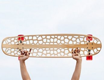 7th-Edition-of-Rio+Design-At-Fuori-Salone-2015-Technology-and-Sustainability-Voronoi-Skateboard-Organic  7th Edition of Rio + Design At Fuori Salone 2015-04-10: Technology and Sustainability 7th Edition of Rio Design At Fuori Salone 2015 Technology and Sustainability Voronoi Skateboard Organic 345x265