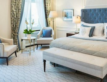 Fairmont Hotel luxurious suites furnished with BRABBU's designs