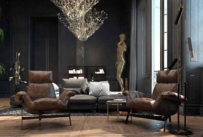 Fabulous Paris apartment by Iryna Dzhemesiuk & Vitaliy Yurov