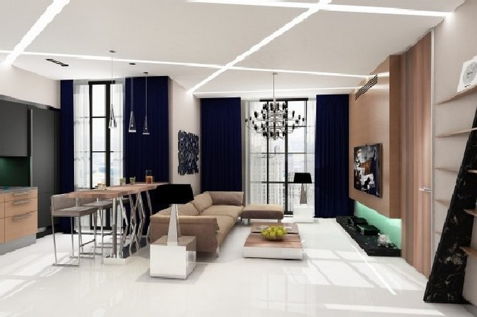 Luxury Interior Design: an Eclectic Lounge Room