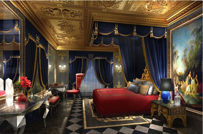 The World Most Luxurious Hotel The 13 the world most luxurious hotel the 13 The World Most Luxurious Hotel The 13 has opened in Macau the 13 hotel bedroom