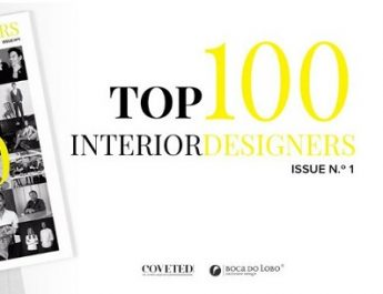 TOP 100 INTERIOR DESIGNERS BY BOCA DO LOBO AND COVETED MAGAZINE