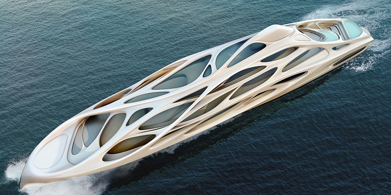Best Design Projects: MEET THE AMAZING SUPERYACHT DESIGNED BY ZAHA HADID superyacht MEET THE AMAZING SUPERYACHT DESIGNED BY ZAHA HADID 1 8
