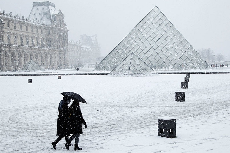 Snow-Covered Architectural Masterpieces Around the World architectural masterpieces Snow-Covered Architectural Masterpieces Around the World 8 1