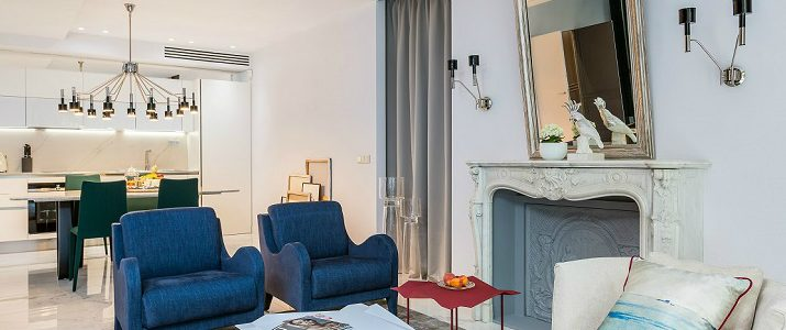 Belle Nouvelle in a Modern and Eclectic Style Apartment in Paris