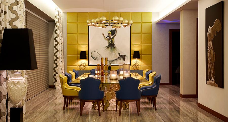 25 Fascinating Interior Design Ideas For Unique Dining Rooms unique dining rooms 25 Fascinating Interior Design Ideas For Unique Dining Rooms Dining Room Brabbu 05