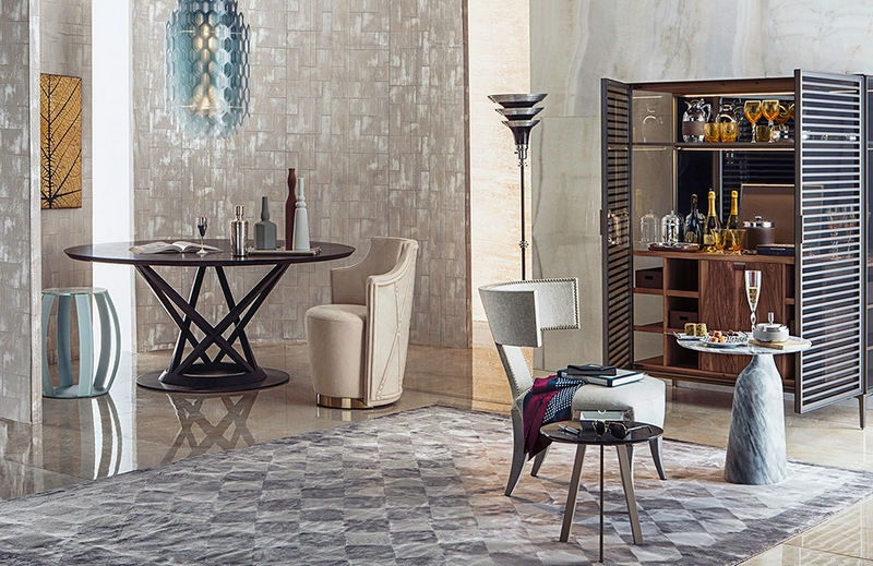 Enter The Luxurious World Of Gianfranco Ferrè Rugs At ISaloni 2017 ➤To see more Unique Design Projects visit us at http://www.bestdesignprojects.com #interiordesign #salonedelmobile #isaloni #interiordesign isaloni 2017 Enter The Luxurious World Of Gianfranco Ferrè Rugs At ISaloni 2017 5 4