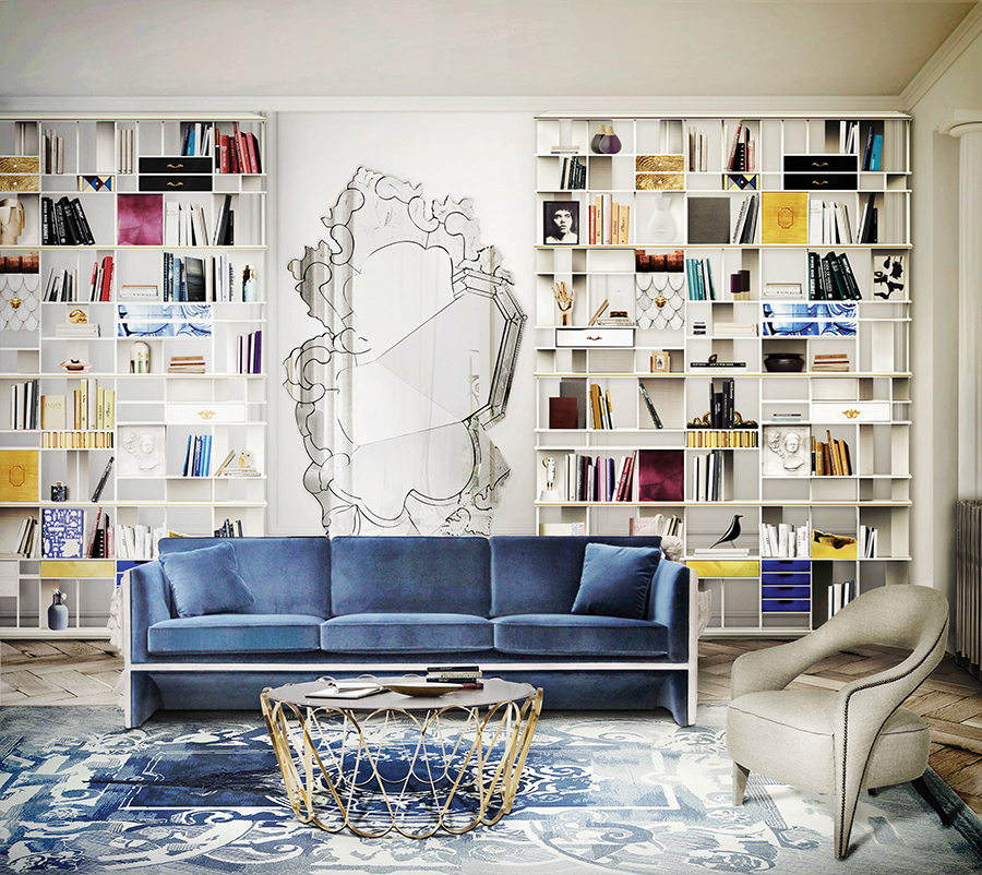 25 Best Interior Design Projects To Spark Your Living Room ➤ To see more news about the Interior Design Shops in the world visit us at http://www.bestdesignprojects.com #interiordesign #homedecorideas #luxurybrands @BestDesignProj @koket @bocadolobo @delightfulll @brabbu @essentialhomeeu @circudesign @mvalentinabath @luxxu @covethouse_ living room 25 Best Interior Design Projects To Spark Your Living Room Living Room Ideas 6