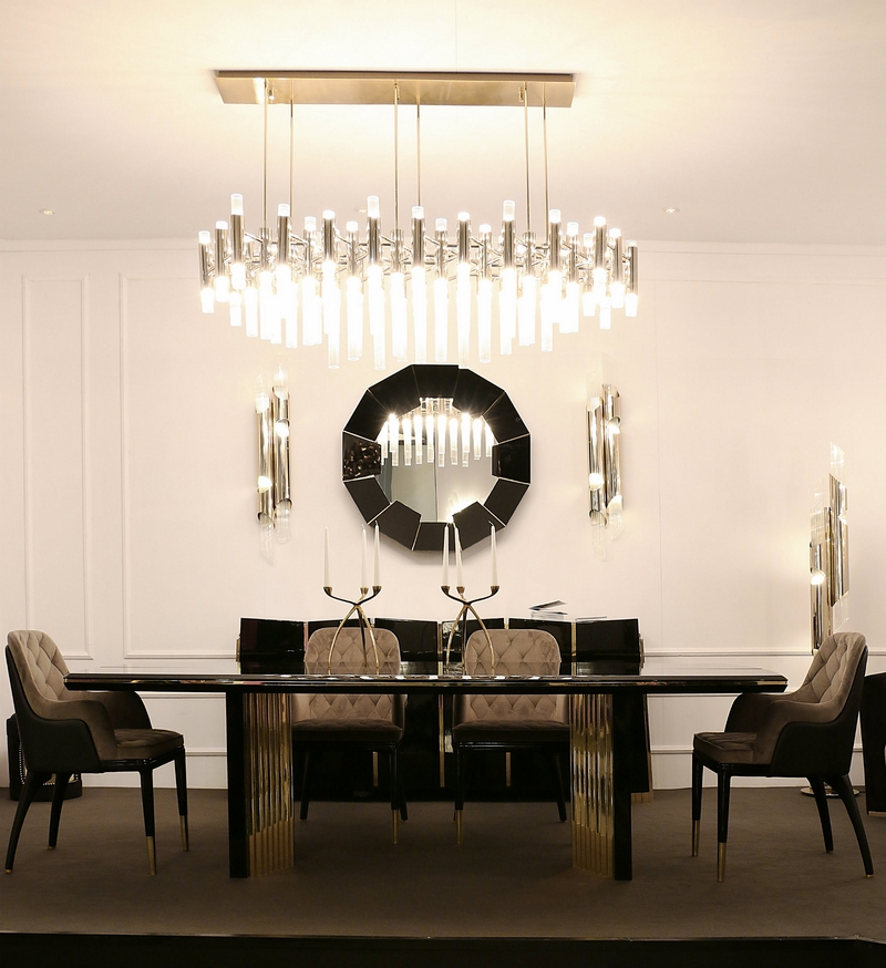 unique dining tables Make Your Dining Room Sparkle With Unique Dining Tables Luxxu isaloni 2017 2