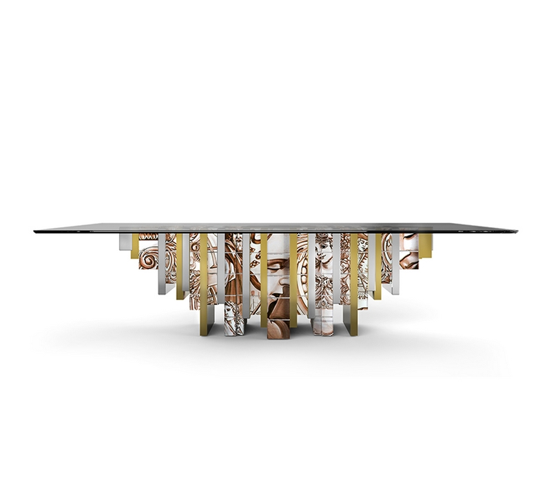 unique dining tables Make Your Dining Room Sparkle With Unique Dining Tables heritage dining table zoom