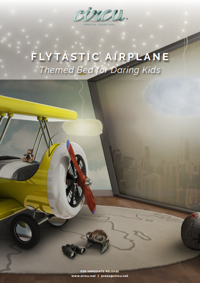 Flytastic Airplane Themed Bed for Daring Kids 11bdcc149c97c9fed5f3ebf8baf1c3bc