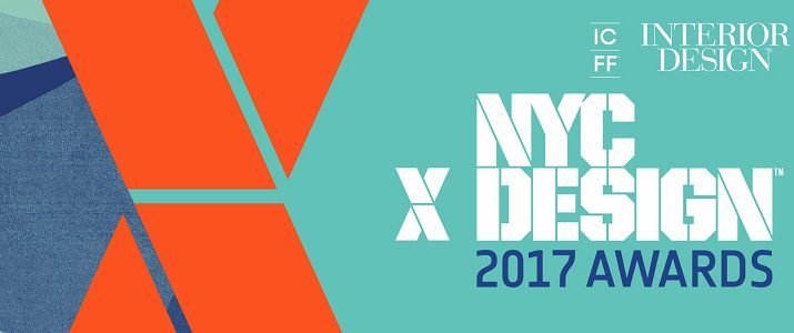 icff 2017 Discover The 2nd Annual NYCxDESIGN AWARDS From ICFF 2017 nycxdesignawards2017 715x300