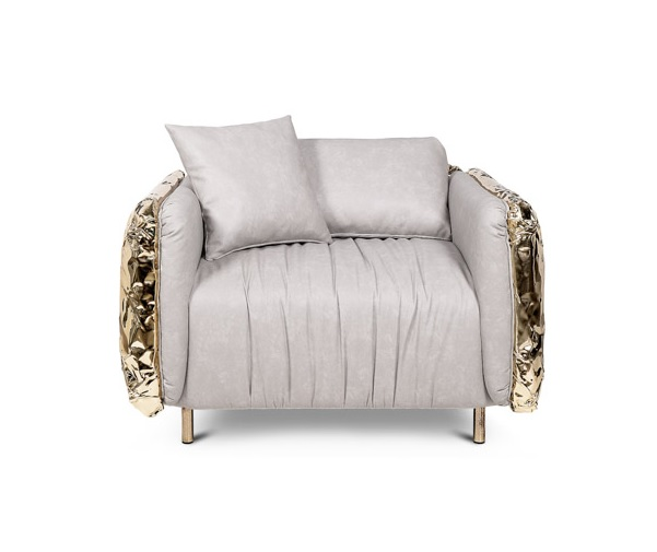 Imperfectio armchair from Boca do Lobo Ashton Kutcher and Mila Kunis Best Design Projects: New Home of Ashton Kutcher and Mila Kunis Best Design Projects New Home of Ashton Kutcher and Mila Kunis 6