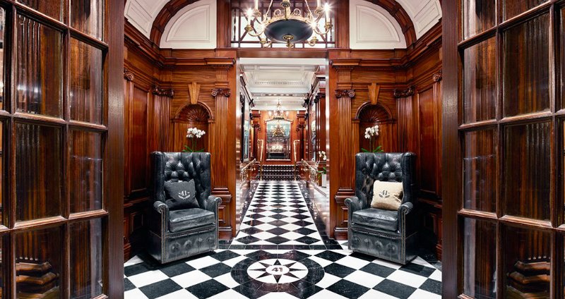 Hotel Design Project - Get Inside The Unique 41 Hotel In London ➤ To see more news about the Best Design Projects in the world visit us at http://www.bestdesignprojects.com #homedecor #interiordesign #bestdesignprojects @bocadolobo @delightfulll @brabbu @essentialhomeeu @circudesign @mvalentinabath @luxxu @covethouse_ hotel design project Hotel Design Project – Get Inside The Unique 41 Hotel In London Hotel Design Project Get Inside The Unique 41 Hotel In London 5