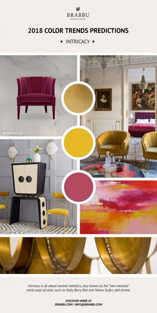 Be Inspired By Pantone 2018 Color Trends For Your Next