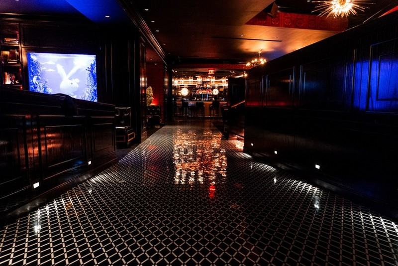 : Inside the new interior design of New York citiy's hottest club interior design Inside the new interior design of New York city's hottest club Get To Know the Brand New Playboy Club New York 04
