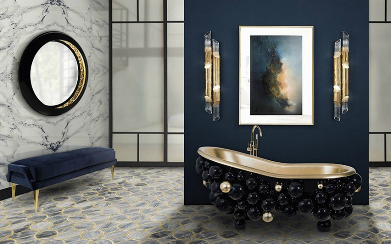 15 Bespoke Bathrooms That Are Dressed to Impress (Part III) bespoke bathrooms 15 Bespoke Bathrooms That Are Dressed to Impress (Part III) 16 Colourful Bathroom Ideas to Create the Most Soothing Environment 6