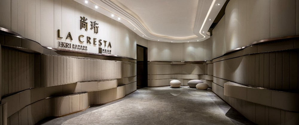 Everything About The La Cresta Sales Office Design Project