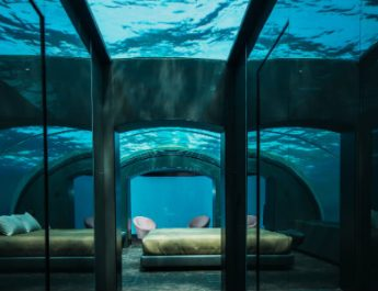 Spend A Night In This Luxury Underwater Hotel Villa