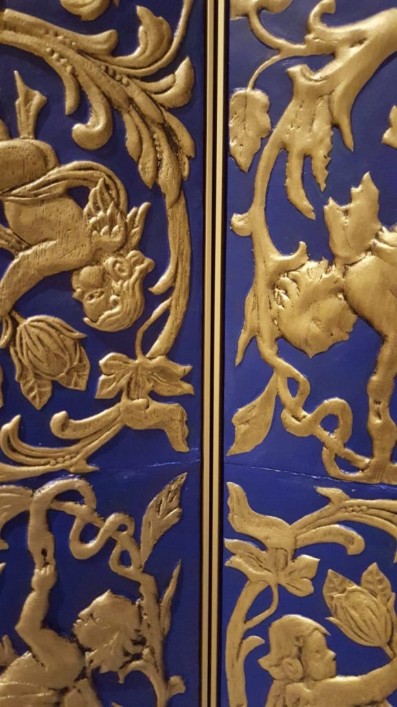 Sebastiaan van Soest Creates A Gilded Leather Folding Screen Gilded Leather Folding Screen Sebastiaan van Soest Creates A Gilded Leather Folding Screen Sebastiaan van Soest Creates A Gilded Leather Folding Screen 5