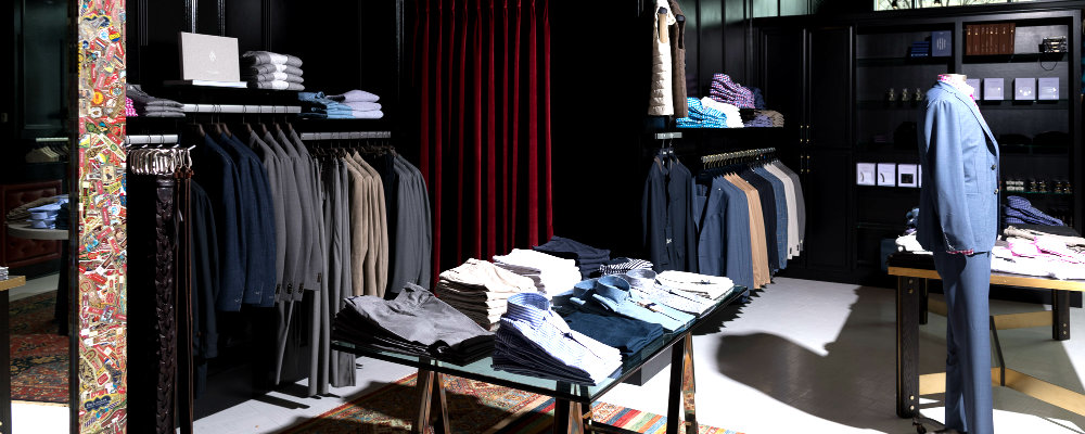 The New Interior Design Of The Rogers Men's Store In The USA