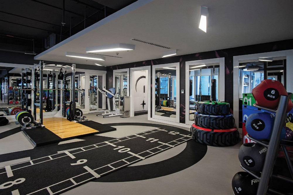 An Inside Tour Into The Modern Gym Project By Brian Lieb