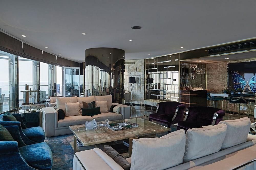 Brian Leib Created The Interior Design Of A Penthouse Project In Dubai interior design Brian Leib Created The Interior Design Of A Penthouse Project In Dubai Brian Leib Created The Living Room Decor For A Project In Dubai 2