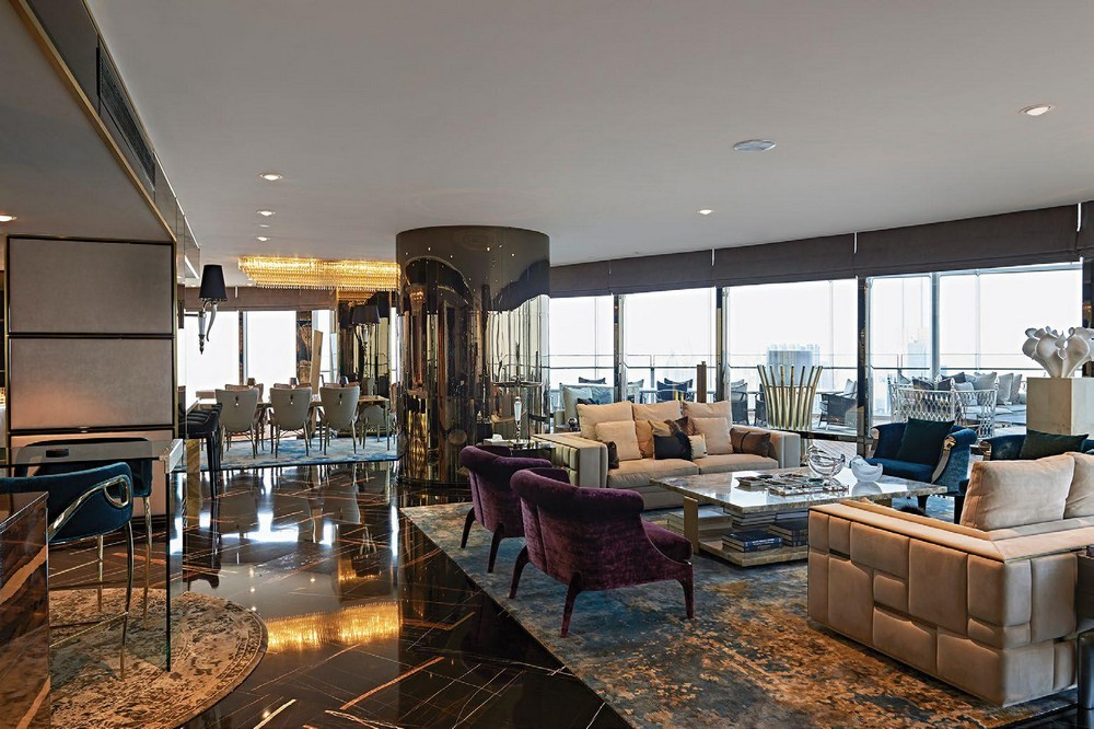 Brian Leib Created The Interior Design Of A Penthouse Project In Dubai interior design Brian Leib Created The Interior Design Of A Penthouse Project In Dubai Brian Leib Created The Living Room Decor For A Project In Dubai 3