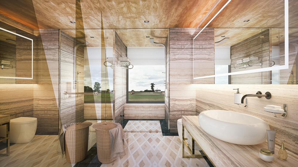 The Interior Design For A New Penthouse Project In Singapore