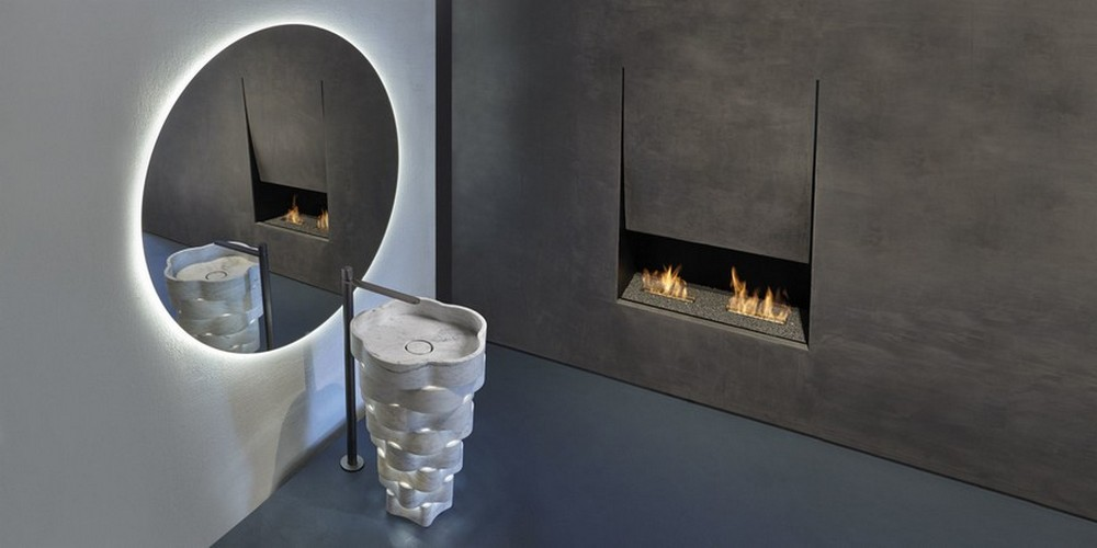 Antonio Lupi's New Fireplace Design Is Perfect For A Bathroom Project antonio lupi Antonio Lupi's New Fireplace Design Is Perfect For A Bathroom Project Antonio Lupis New Fireplace Design Is Perfect For A Bathroom Project 3