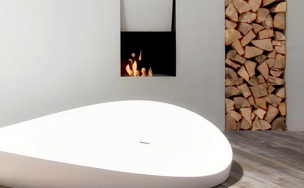Antonio Lupi's New Fireplace Design Is Perfect For A Bathroom Project antonio lupi Antonio Lupi's New Fireplace Design Is Perfect For A Bathroom Project Antonio Lupis New Fireplace Design Is Perfect For A Bathroom Project 4