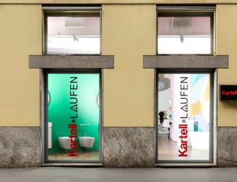 design project See The Design Project For The New Kartell By Laufen Showroom in Milan See The Design Project For The New Kartell By Laufen Showroom in Milan capa 345x265