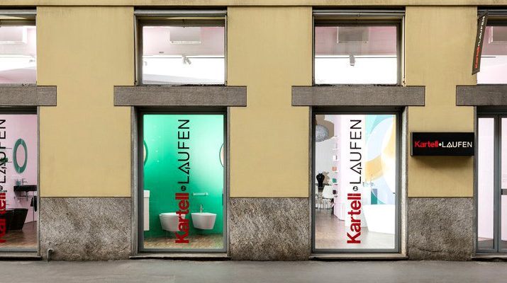 design project See The Design Project For The New Kartell By Laufen Showroom in Milan See The Design Project For The New Kartell By Laufen Showroom in Milan capa 715x400