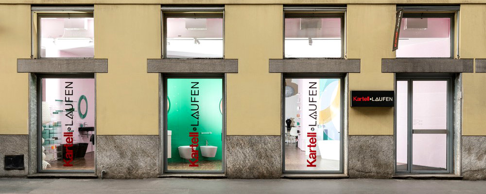 design project See The Design Project For The New Kartell By Laufen Showroom in Milan See The Design Project For The New Kartell By Laufen Showroom in Milan capa