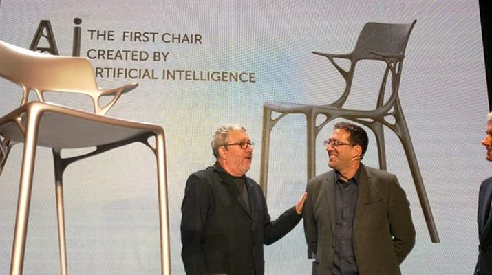 a.i. chair design The First A.I. Chair Design Was Created By Kartell And Philippe Starck The First A