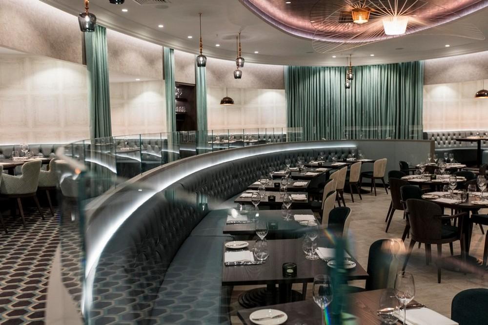 René Dekker Interiors Designed The Interiors For M Restaurant In London rené dekker René Dekker Interiors Designed The Interiors For M Restaurant In London Ren   Dekker Design Designed The Interiors For M Restaurant In London 2