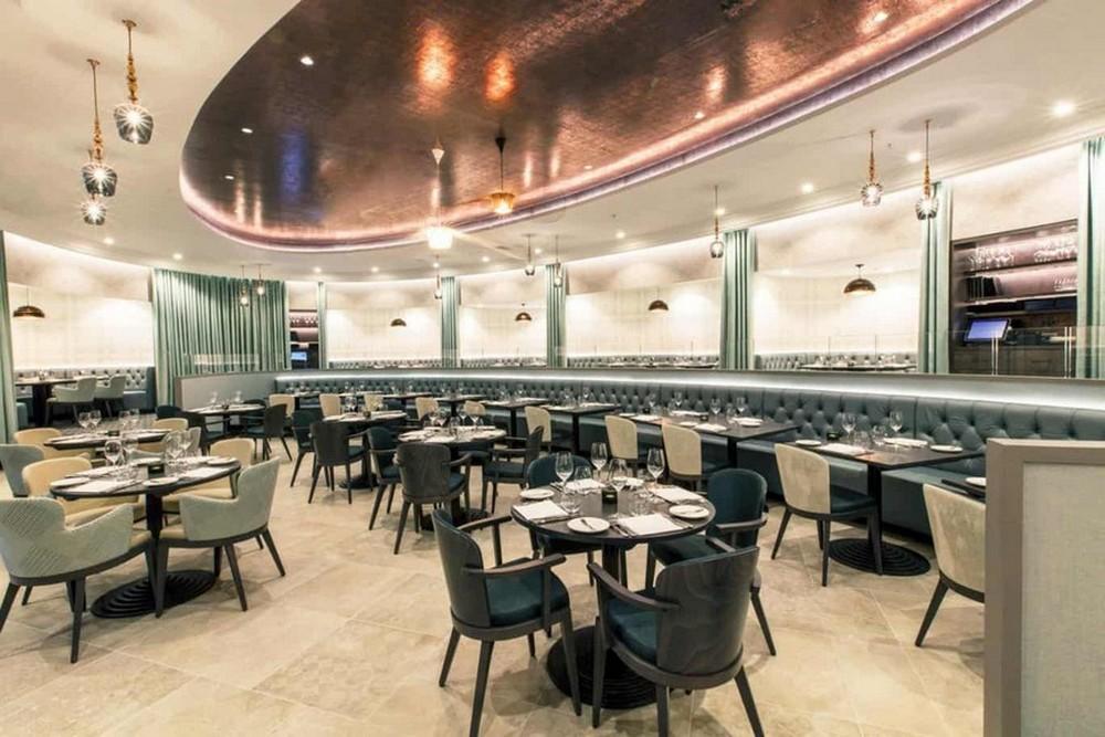 René Dekker Interiors Designed The Interiors For M Restaurant In London rené dekker René Dekker Interiors Designed The Interiors For M Restaurant In London Ren   Dekker Design Designed The Interiors For M Restaurant In London 3