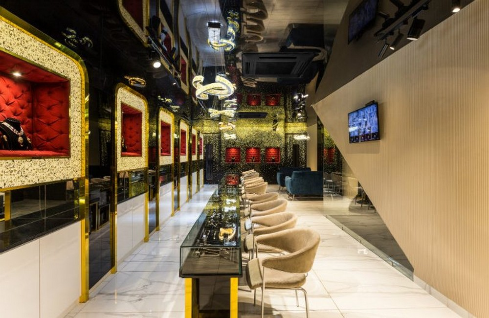 Studio Ardete Created The New Swarn Jewellers Store Project