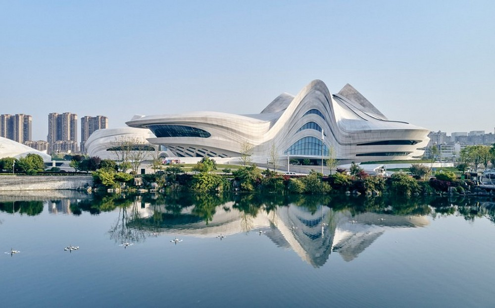 Zaha Hadid Architects Created The New Chinese Cultural Center zaha hadid architects Zaha Hadid Architects Created The New Chinese Cultural Center Zaha Hadid Architects Created The New Chinese Cultural Center 2