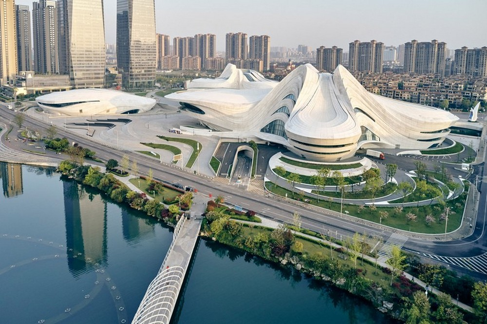 Zaha Hadid Architects Created The New Chinese Cultural Center zaha hadid architects Zaha Hadid Architects Created The New Chinese Cultural Center Zaha Hadid Architects Created The New Chinese Cultural Center 5