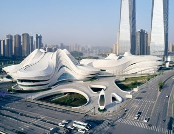 zaha hadid architects Zaha Hadid Architects Created The New Chinese Cultural Center Zaha Hadid Architects Created The New Chinese Cultural Center capa 345x265