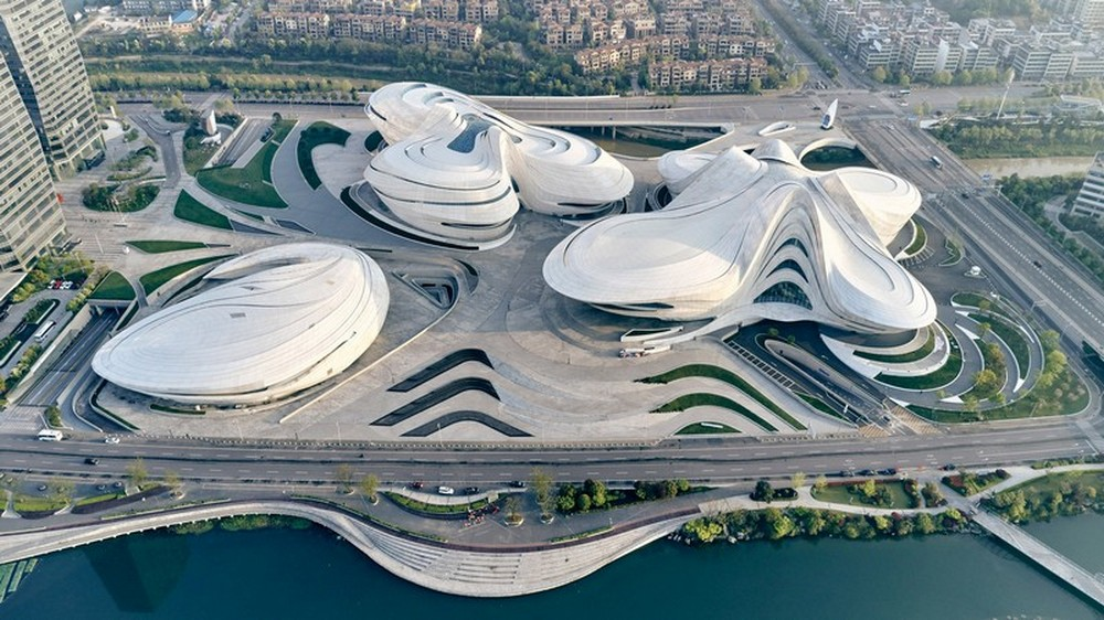 Zaha Hadid Architects Created The New Chinese Cultural Center zaha hadid architects Zaha Hadid Architects Created The New Chinese Cultural Center Zaha Hadid Architects Created The New Chinese Cultural Center