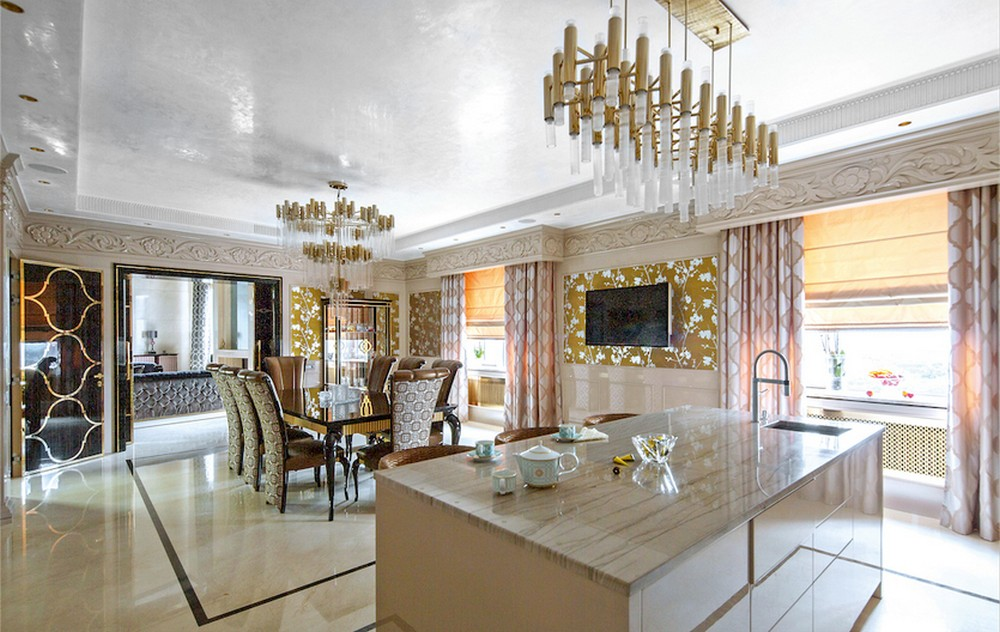 The Luxury Penthouse Project Of Your Dreams Is Located In Moscow