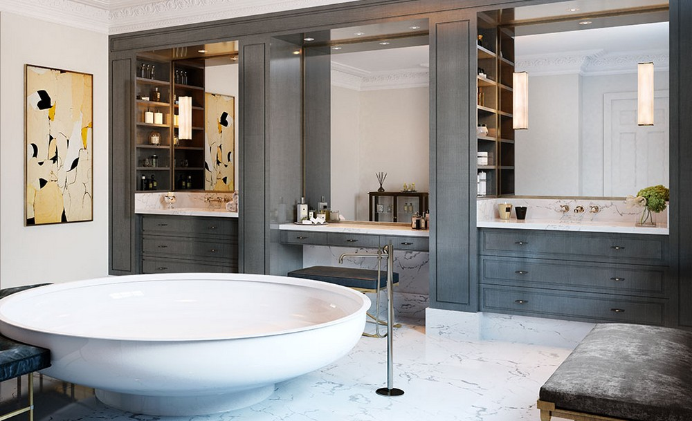 Luxury Bathroom Design Inspirations By London's Brady Williams Studio brady williams Luxury Bathroom Design Inspirations By London's Brady Williams Studio Luxury Bathroom Design Inspirations By Londons Brady Williams Studio 4
